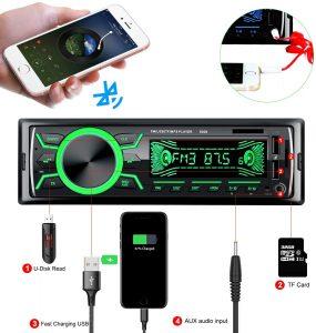Autoradio Bluetooth mains libres pas cher