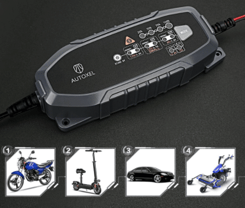 Test chargeur de batterie intelligent Autoxel