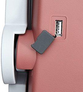 Prise usb integrée a la glaciere électrique portable Mobicool