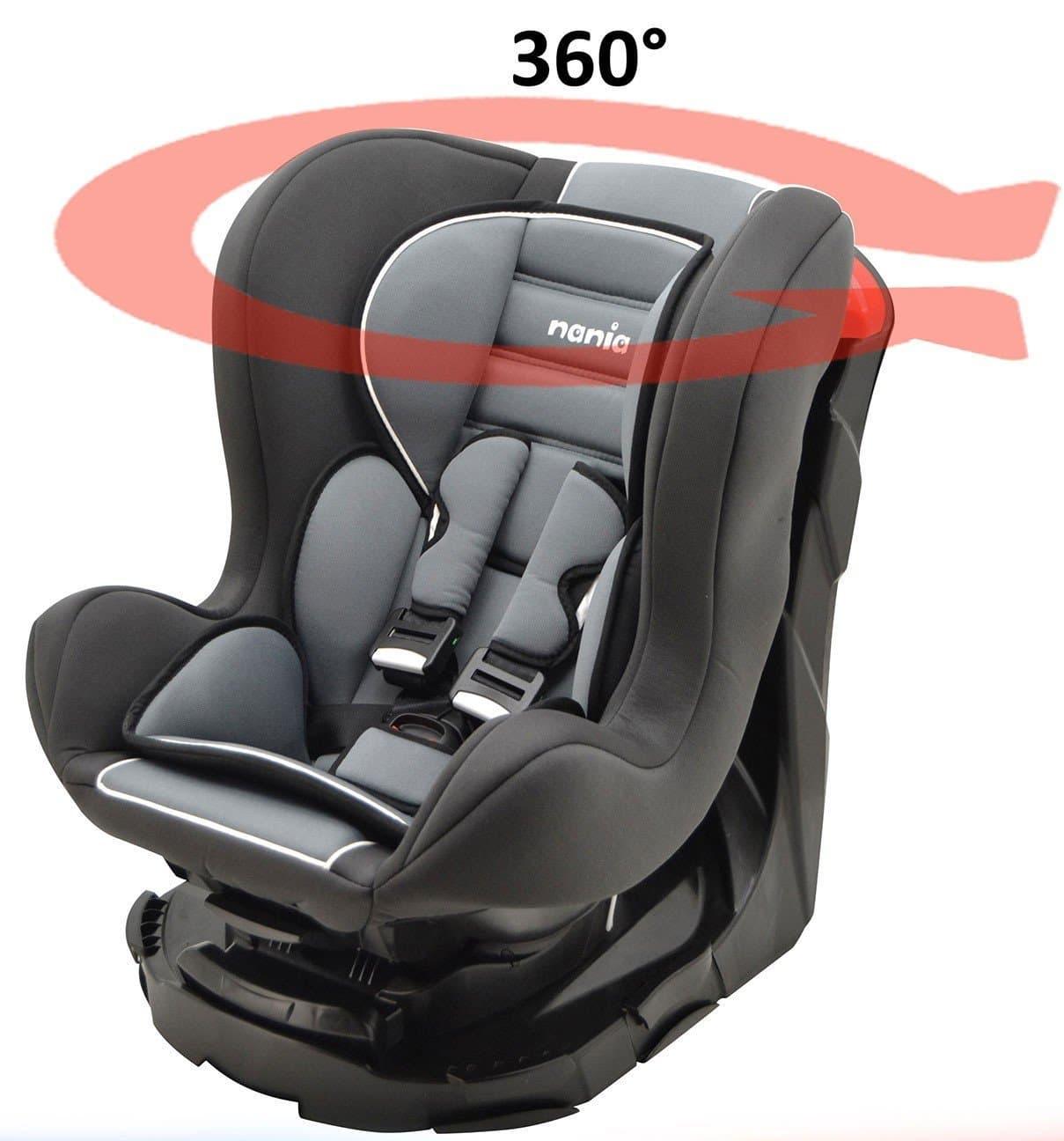 4236428f90915 Test du siège auto pour bébé Mycarsit 360° Storm - Tout pour l Auto
