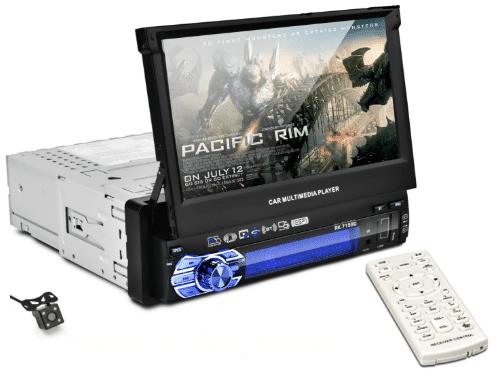 combiné autoradio GPS Camera de recul