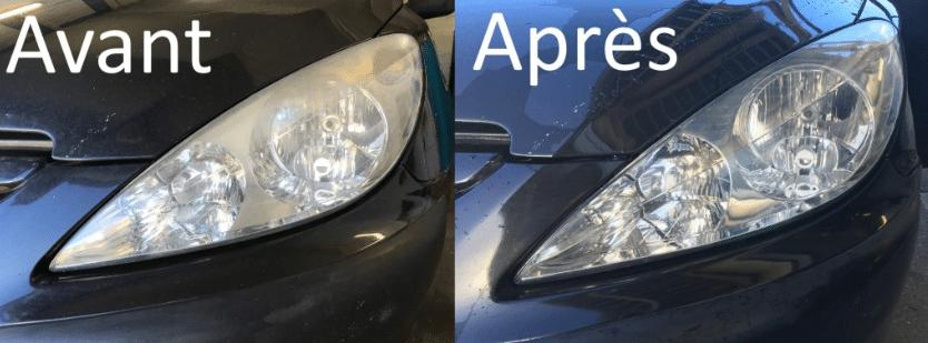 Comparatif rénovateur de phares