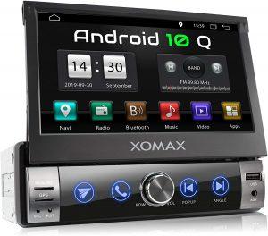 combiné autoradio GPS multimédia pas cher Xomax XM-VA760